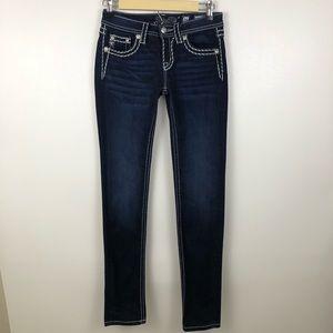 Miss Me Girls Super Skinny Stretch Jeans Size 16